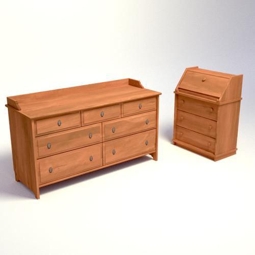 Chest of drawers and cabinet preview image