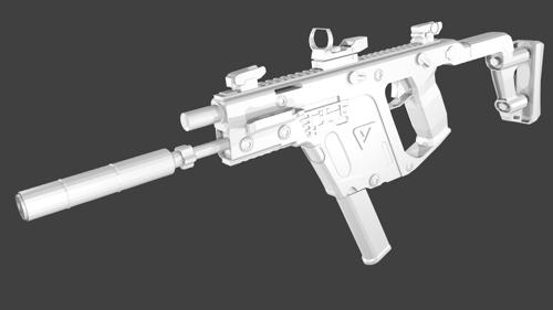 Kriss Vector Super V without textures preview image