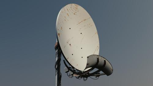 Parabol Antenna / Satellitedish preview image