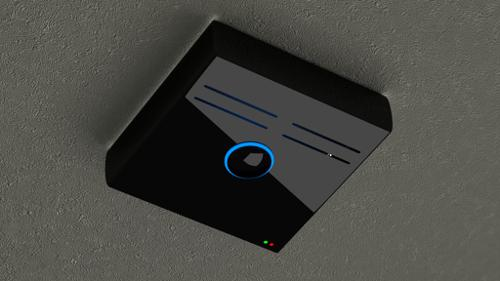 Modern Smoke Detector preview image