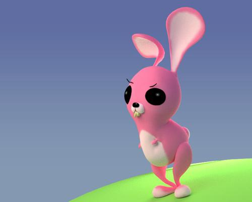 Pinky bunny preview image