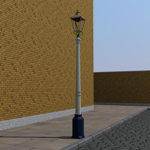 Genuine Victorian Gas Lamppost preview image