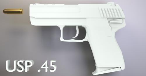 USP .45 Pistol preview image