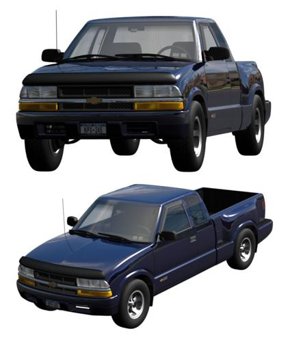 Chevy S-10 Stepside Extended Cab 2001 preview image