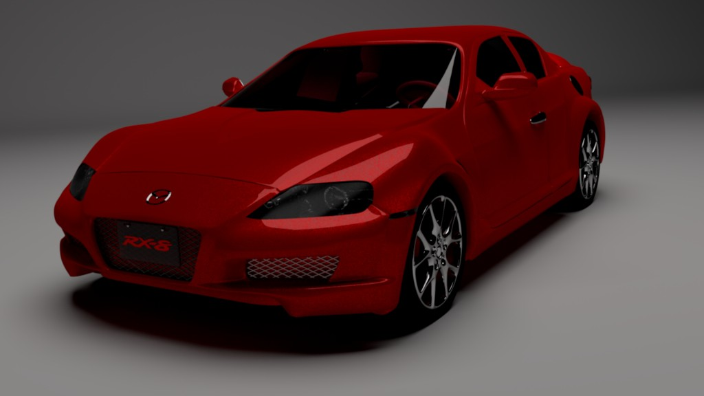 Mazda RX-8 for Cycles preview image 1