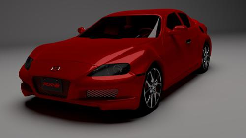 Mazda RX-8 for Cycles preview image
