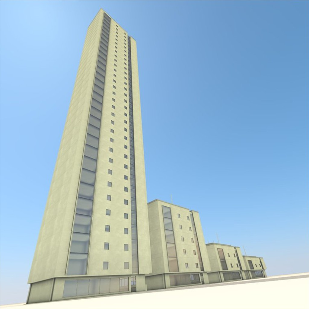Residential Building Set preview image 3