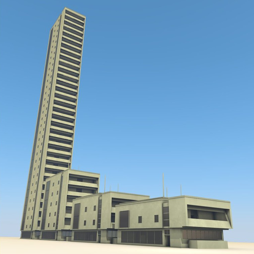 Residential Building Set preview image 4