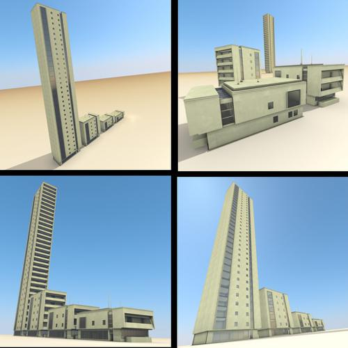 Residential Building Set preview image