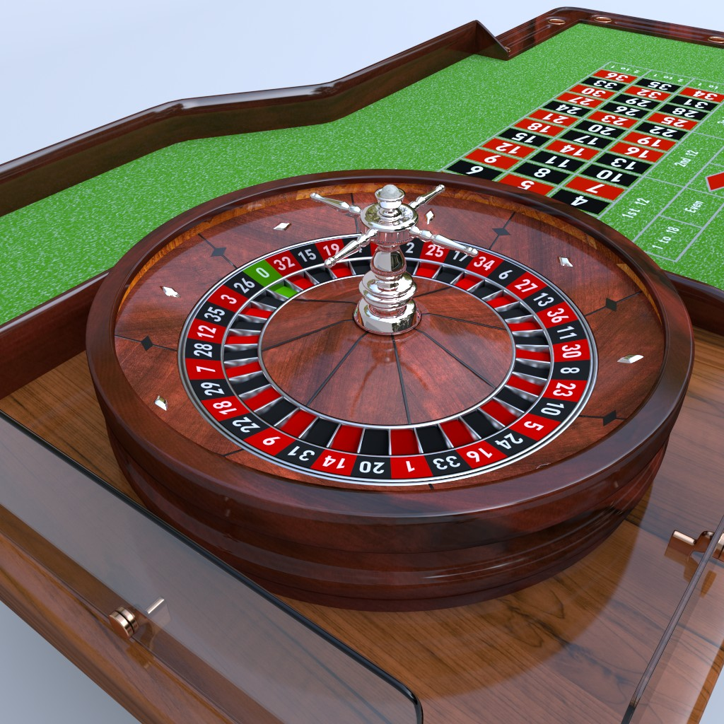 Casino Roulette Table preview image 2