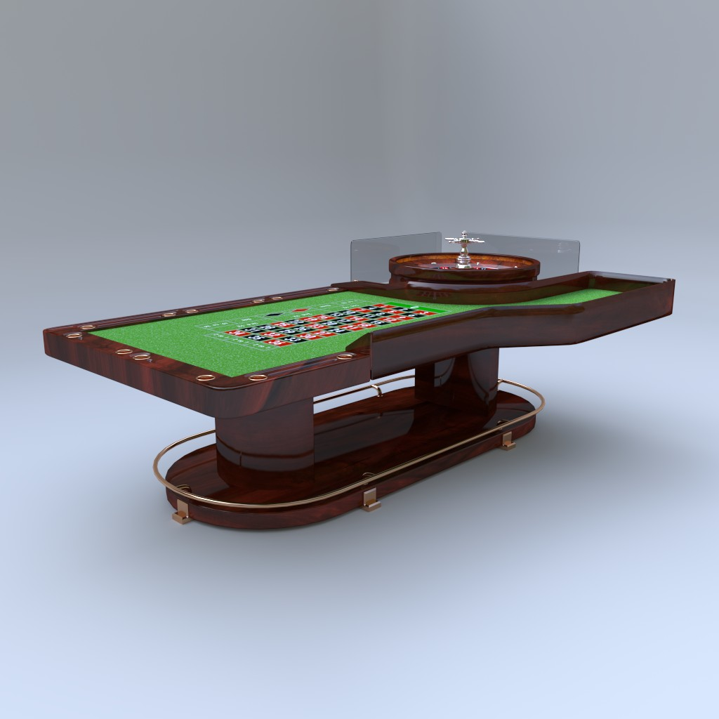 Casino Roulette Table preview image 3