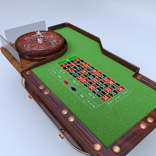 Casino Roulette Table preview image