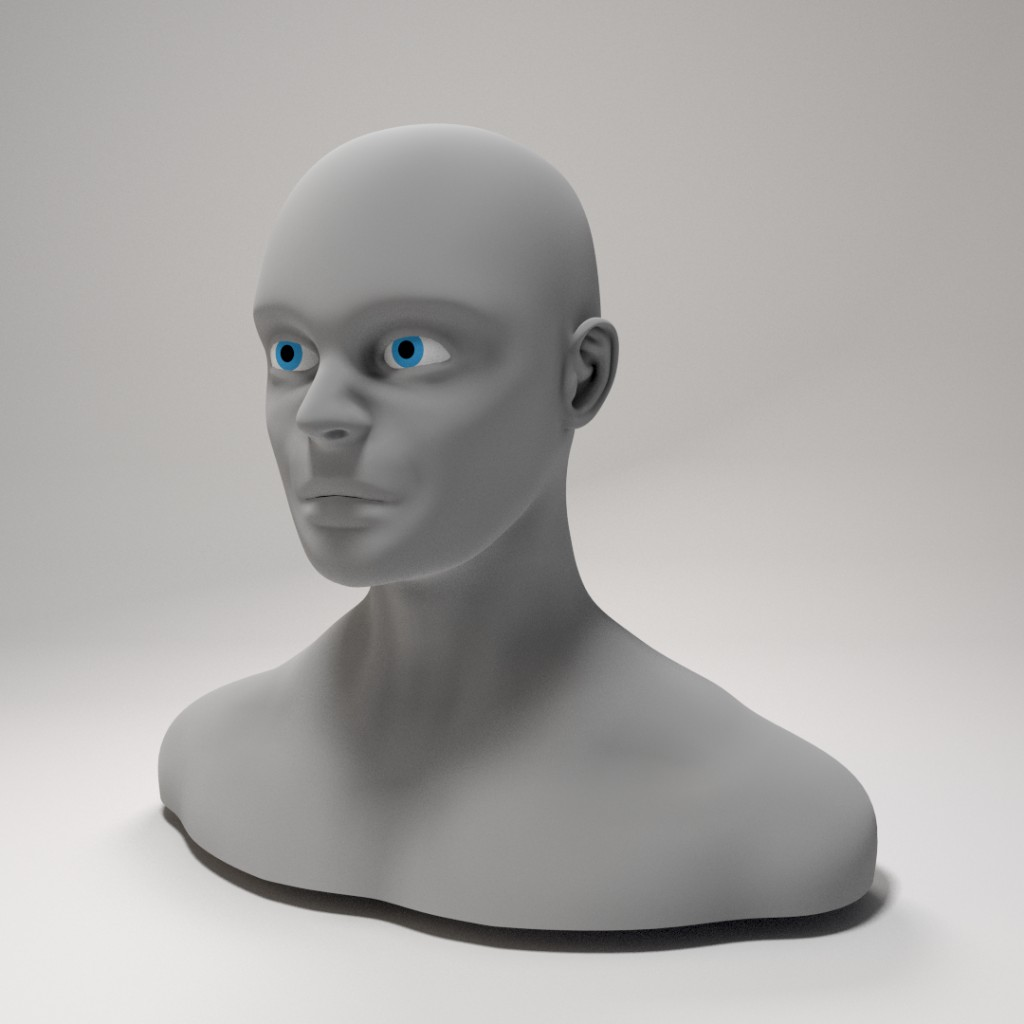 Male Head preview image 1