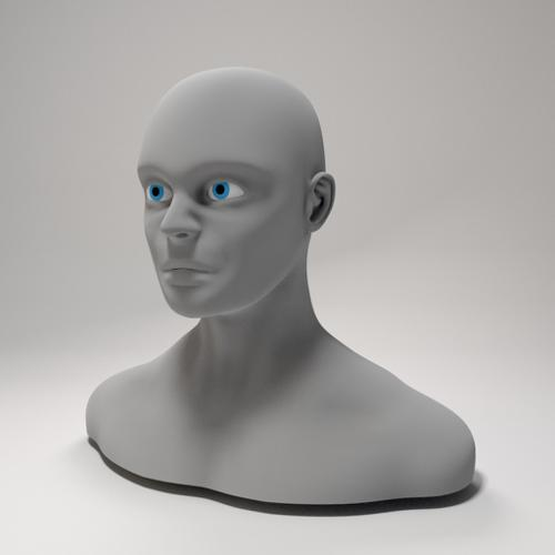 Male Head preview image