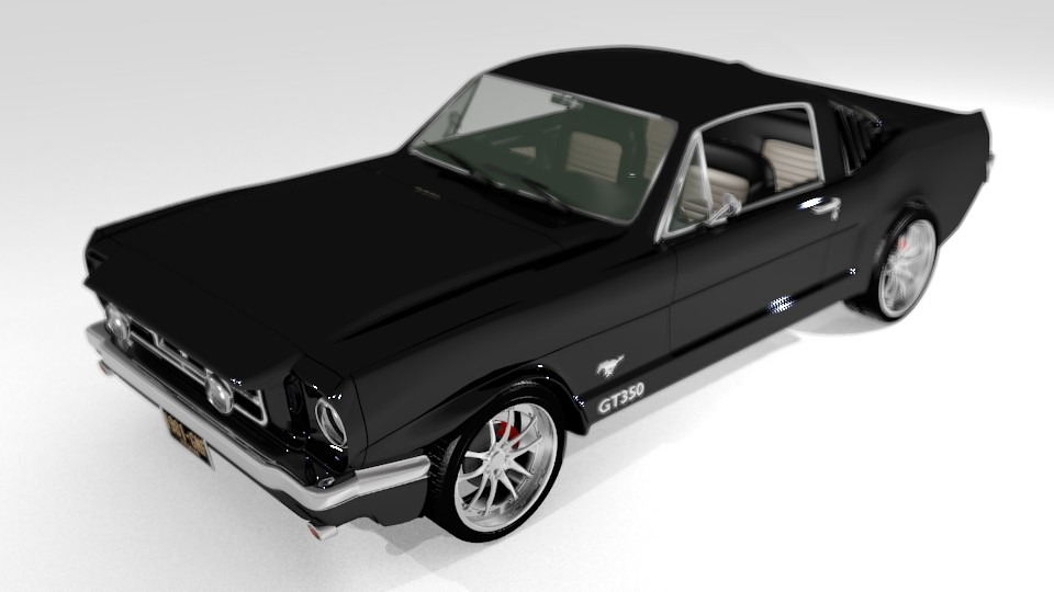 Mustang 66 fastback preview image 2