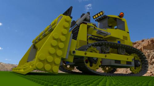 Building Block Bull Dozer preview image