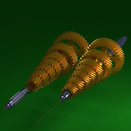 Helical gear set preview image