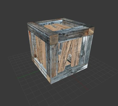 Wooden Crate preview image