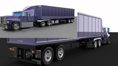semi truck preview image