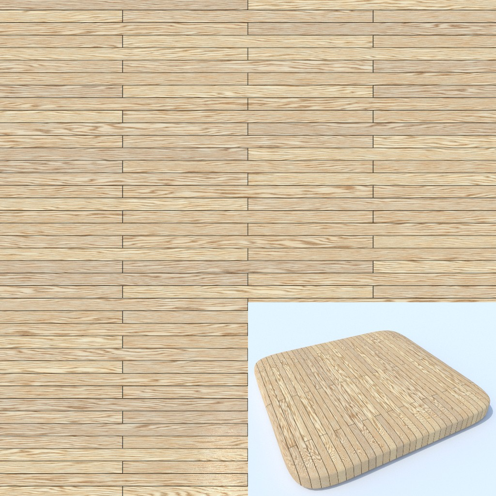 Procedural Planks - Wood - Texture preview image 1