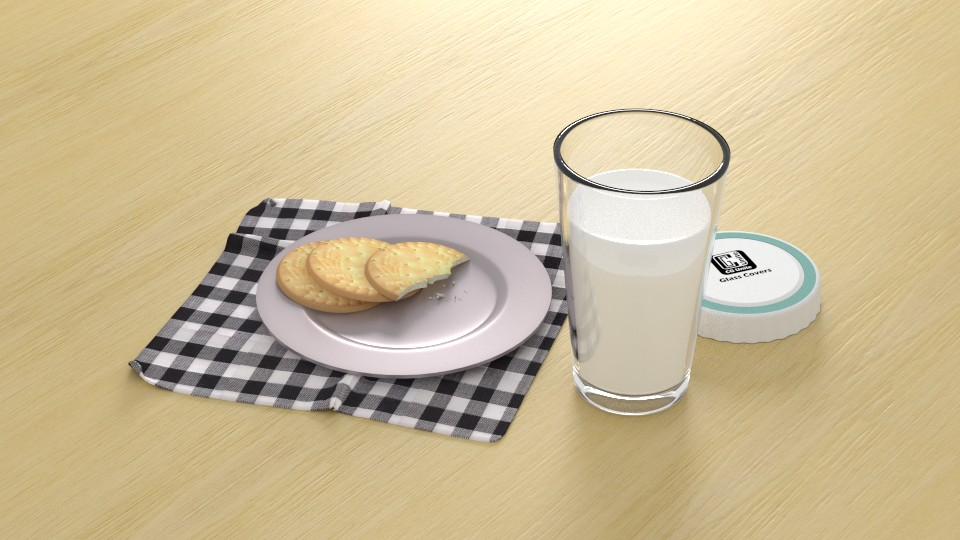 Milk and biscuits preview image 1
