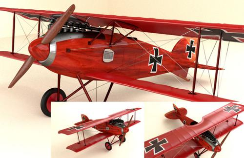 The Albatros D.II preview image