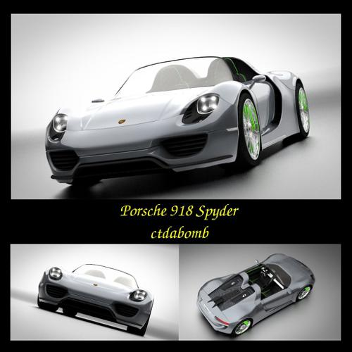 Porsche 918 Spyder *updated 1-24-15* preview image