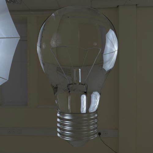 High Poly Light Bulb preview image