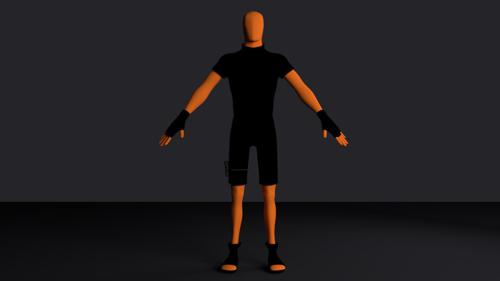 Low Poly Ninja preview image