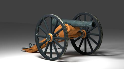 Civil War Cannon preview image
