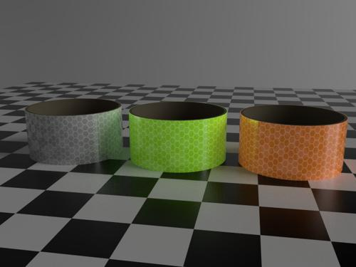 Retro-reflective tape material (cycles) preview image