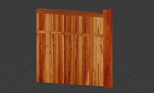 Wood Fence preview image