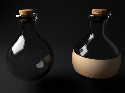 Simple Potion Bottles preview image