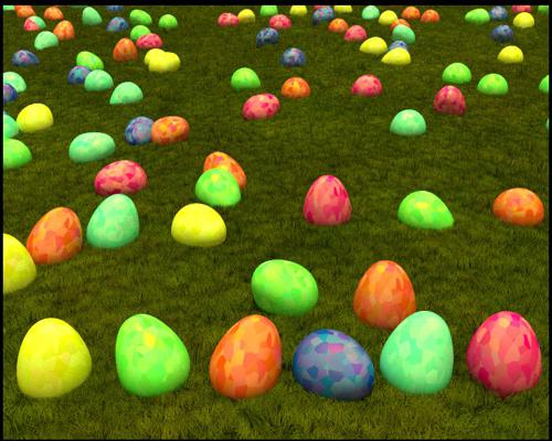 Easter Egg procedural texture preview image