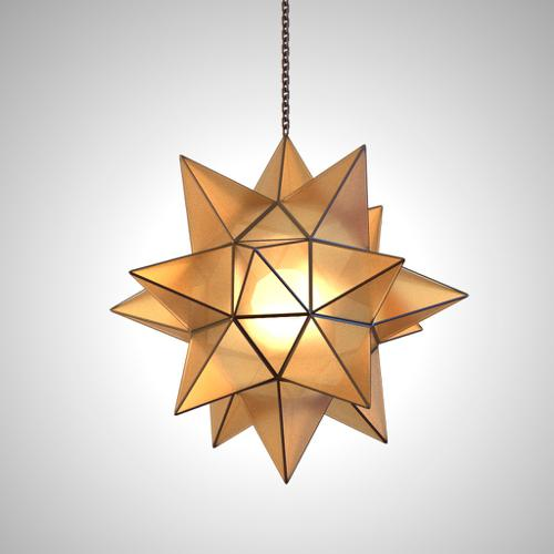 Hanging star lamp preview image