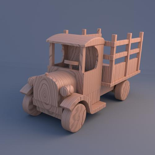Vintage Truck Toy preview image