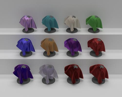 Fabric Materials Pack for Cycles preview image