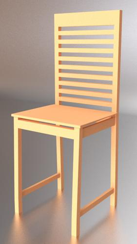 A simple chair preview image