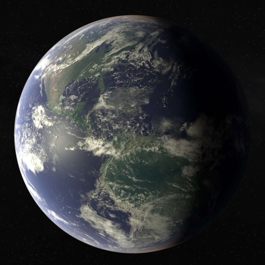Earth for Cycles Render preview image 1