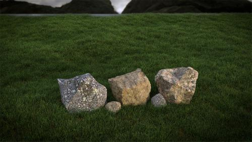 Cycles Grass And Rock Shaders preview image