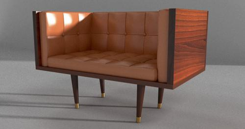 Classic Leather Armchair preview image
