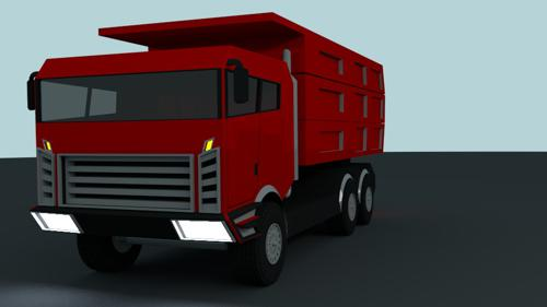 the red truck project preview image