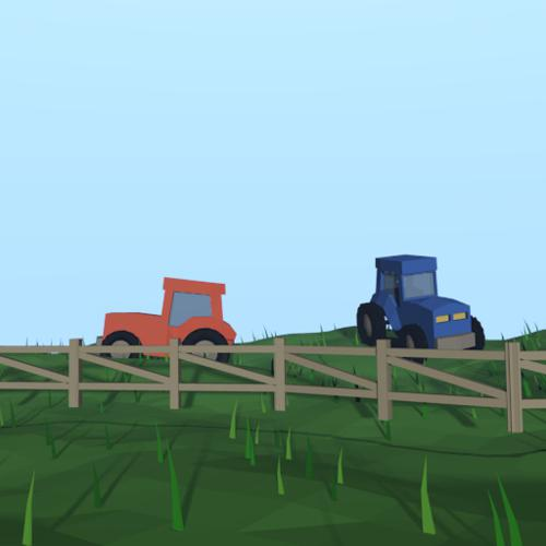 Low Poly Farm preview image