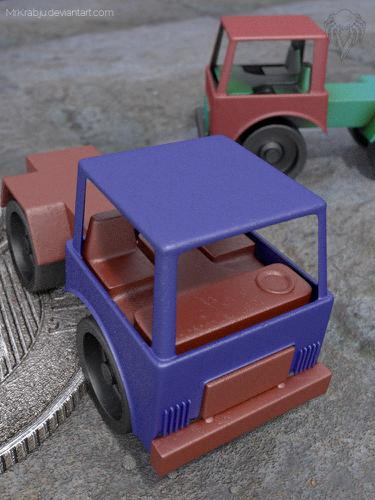Little Plastic Truck preview image
