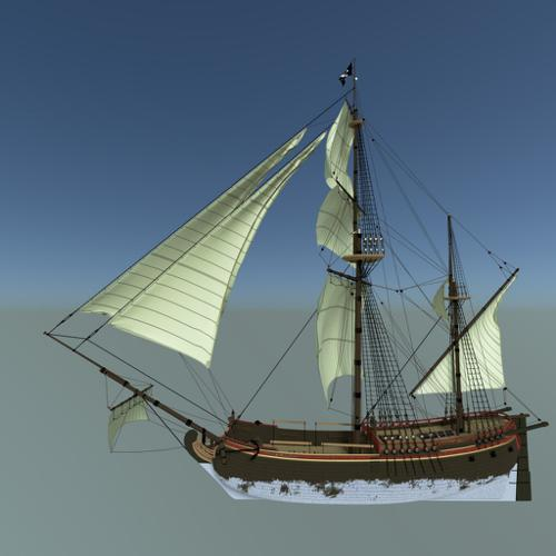 Sailing Boat preview image