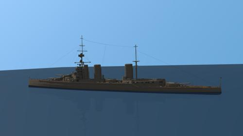 HMS Lion battle cruiser preview image