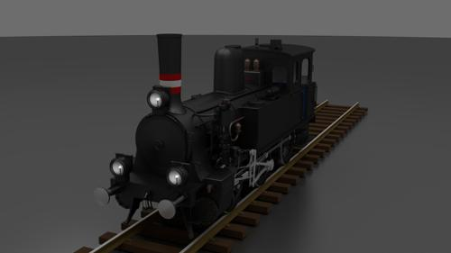 Steam locomotive - DSB litra F preview image