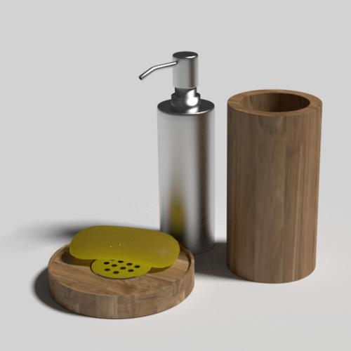 SOAP DISH AND DISPENSER preview image