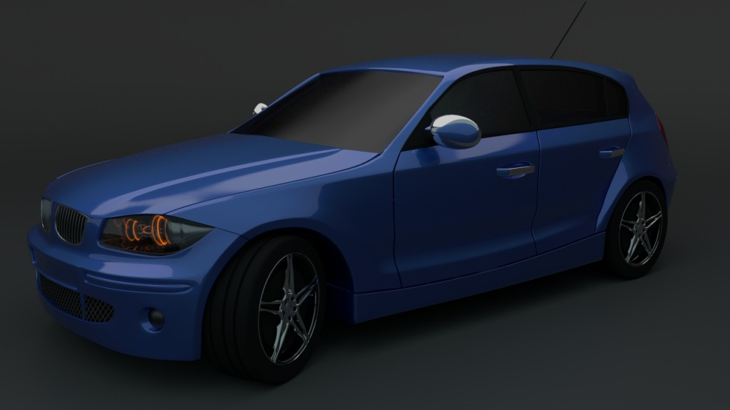 BMW E80 preview image 2