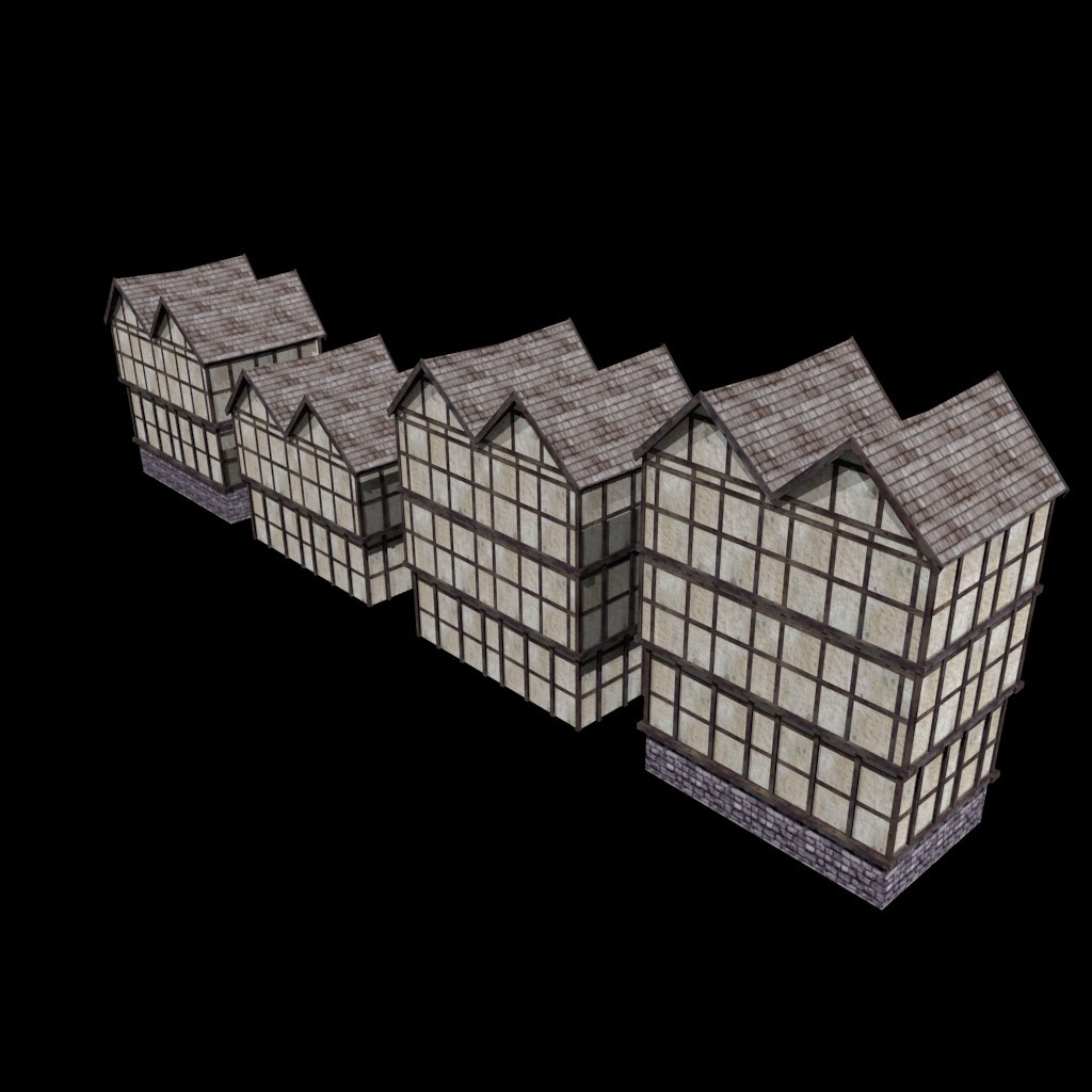 Medieval Modular Design: Buildings 1 preview image 1